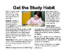 Get the Study Habit